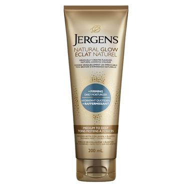 Jergens Natural Glow + Firming Daily Moisturizer Medium to Deep