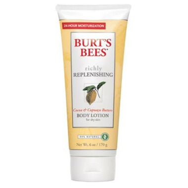 Burt\'s Bees Replenishing Cocoa & Cupuacu Butters Body Lotion