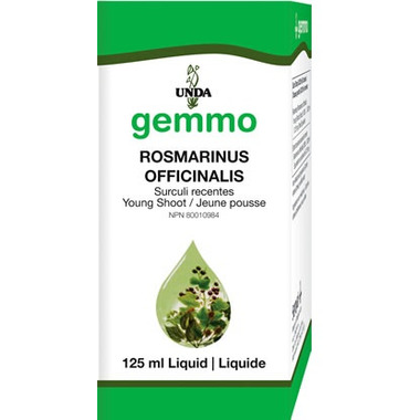 UNDA Gemmo Rosmarinus officinalis Young Shoot Liquid