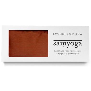 buy samyoga lavender scented eye pillow solid orange from