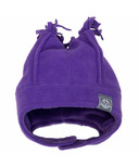 Calikids Fleece Hat Imperial Purple