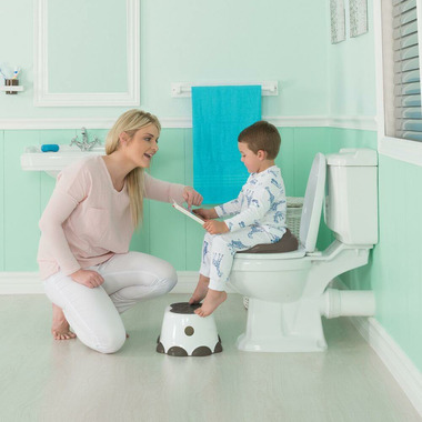 Bumbo Step Stool White and Breige