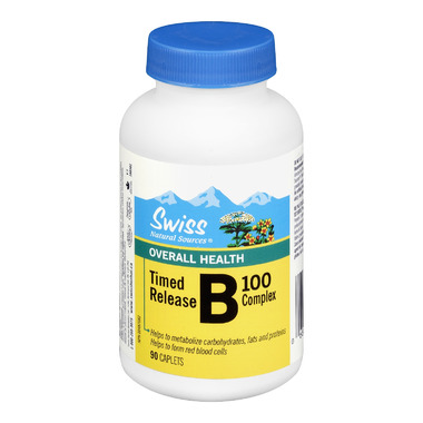 Swiss Natural Sources Time Release B100 Complex