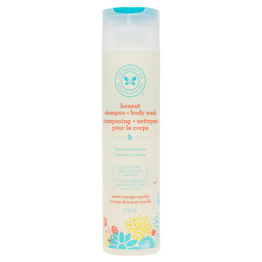 The Honest Company Honest Shampoo + Body Wash in Sweet Orange Vanilla Scent