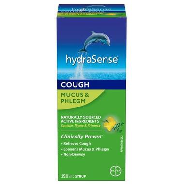 hydraSense Mucus & Phlegm Cough Syrup Non-Drowsy