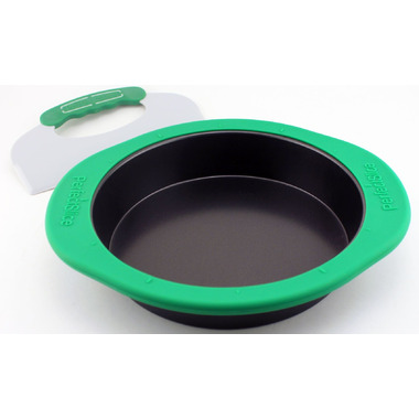 BergHOFF Perfect Slice Round cake Pan With Silicone Sleeve and Tool
