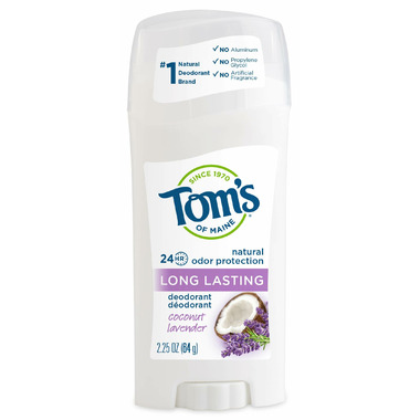 Tom\'s Of Maine Long-Lasting Coconut Lavender Deodorant