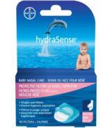 hydraSense, filtres protecteurs pour aspirateur nasal