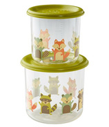 Sugarbooger Good Lunch Snack Containers Large What did the Fox Eat