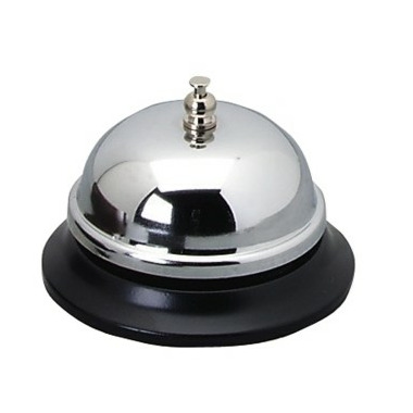 Sparco Nickel Plated Call Bell