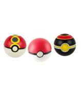 Throw 'n' Catch Pokeballs 3-Pack
