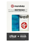Manduka Yoga Refresh 2-Pack Towel and Mat Wash Kit