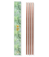 W&P 10 Inch Metal Straws Copper