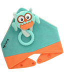 Buddy Bib 3-in-1 Sensory Teething Toy & Bib Owl