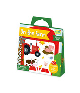Peaceable Kingdom On the Farm Reusable Sticker Tote