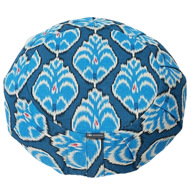 Halfmoon Round Meditation Cushion Heart Centre