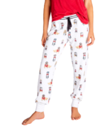 PJ Salvage Hipster Hounds Dogs Jammie Pant Ivory