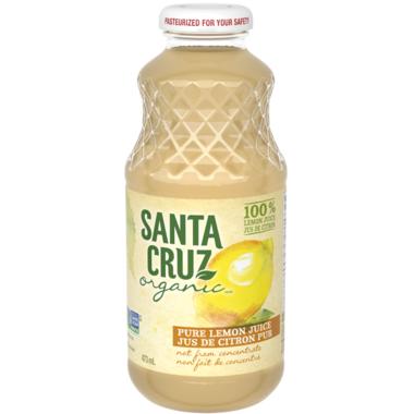 Santa Cruz Organic Lemon Juice