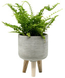 Natural Living Standing Planter Small Taupe