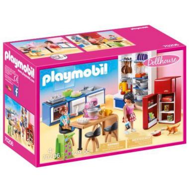 Playmobil Dollhouse Family Kitchen