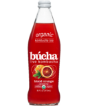 Bucha Sparkling Kombucha Tea Blood Orange
