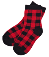 Hatley Little Blue House Kids Sock Buffalo Plaid