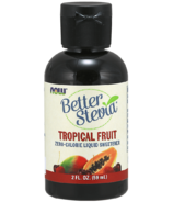 NOW BetterStevia Liquid Sweetener Tropical Fruit