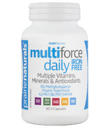 Prairie Naturals Multi-Force Daily Iron-Free Multivitamin & Mineral