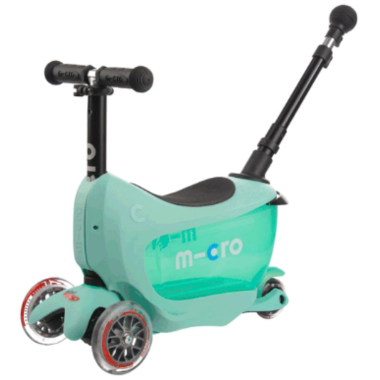 Micro of Switzerland Mini2Go Deluxe Plus Kickboard Mint