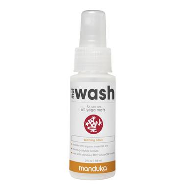 Manduka Mat Wash Spray Travel Size Soothing Citrus