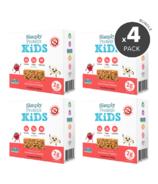 Paquet de barres protéinées à la fraise et la vanille pour enfants de Simply Protein