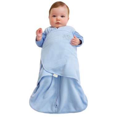Halo Micro Fleece SleepSack Swaddle Blue