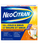 NeoCitran Extra Strength Cold & Sinus Night Apple Cinnamon