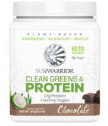 Sunwarrior Clean Greens & Protein Chocolate