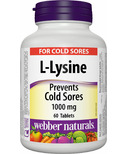 Webber Naturals L-Lysine 1000 mg