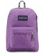 Jansport Super Break Backpack Vivid Liliac 25L
