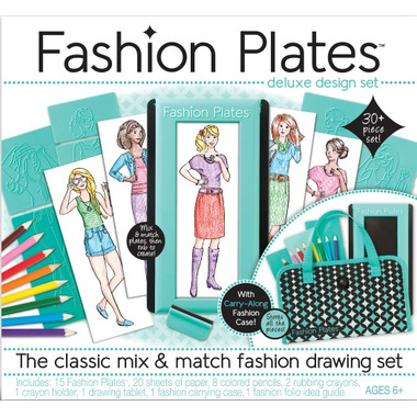 Buy Fashion Plates Deluxe Kit At Wellca Free Shipping 35 In Canada