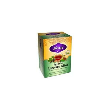 Yogi Tea Egyptian Licorice Mint Tea