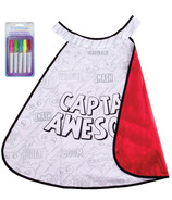 Great Pretenders Colour-A-Cape Superhero Size 4-7