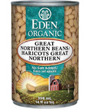 Eden Organic Canned Great Northern Bean