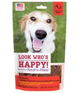 Look Who's Happy Fetch'n Fillets Beef Jerky