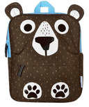 ZOOCCHINI Toddler/Kids Everyday Square Backpack Bear
