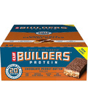 Clif Builder's Chocolate Peanut Butter Protein Bar Case