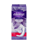 Always Dri-Liners Plus Extra Long Odor Lock