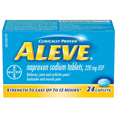 Aleve 220 mg Small Bottle