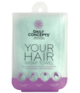 DAILY CONCEPTS Your Hair Wrap Towel - Teal