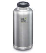 Klean Kanteen TKWide With Loop Cap Brushed Stainless
