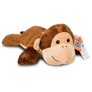 Melissa & Doug Cuddle Monkey Jumbo Plush Stuffed Animal