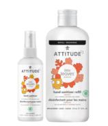 Lot de désinfectants pour les mains Attitude Little Leaves - Mangue