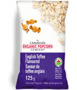 The Canadian Organic Popcorn Company English Toffee Popcorn